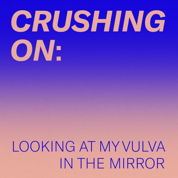 crushing on: looking at my vulva in the mirror